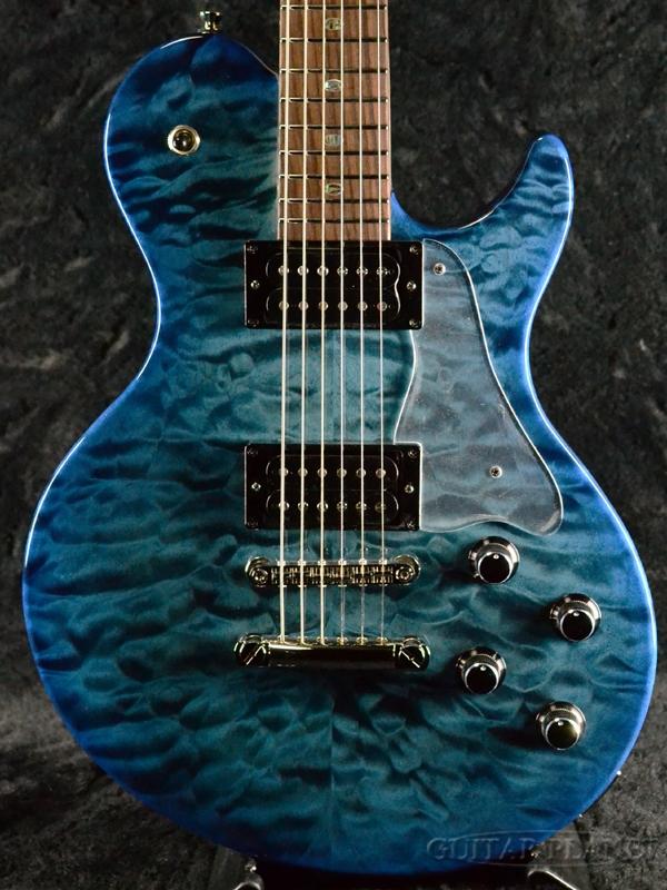 【当店カスタムオーダー品】Freedom Custom Guitar Research RRS Bravery02 -Proctective Color/半蔵(HNZ)- 新品[フリーダム][国産/日本製][Blue,ブルー,青][Electric Guitar,エレキギター]