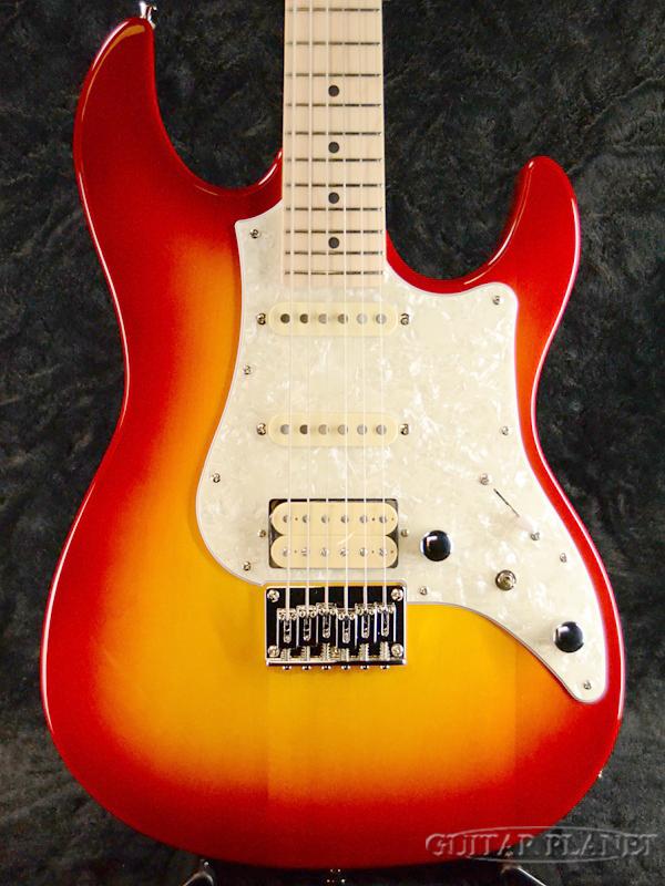 FgN BOS-M CS 新品[フジゲン,富士弦][国産][[チェリーサンバースト][ストラトキャスタータイプ][Electric Guitar,エレキギター]
