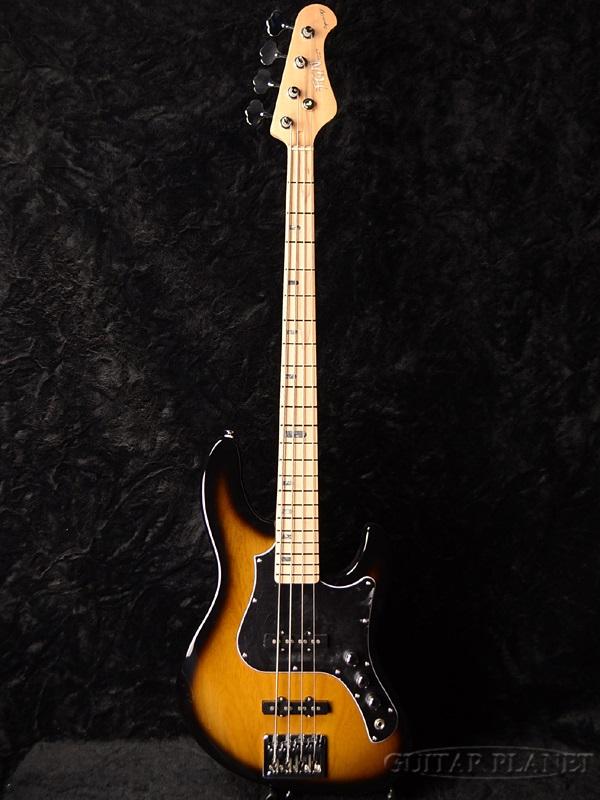 FgN(FUJIGEN) EMJ-ASH-M 2TS 新品 2トーンサンバースト[フジゲン,富士弦][国産][Jazz Bass,ジャズベースタイプ][2-Tone Sunburst][Electric Bass,エレキベース]
