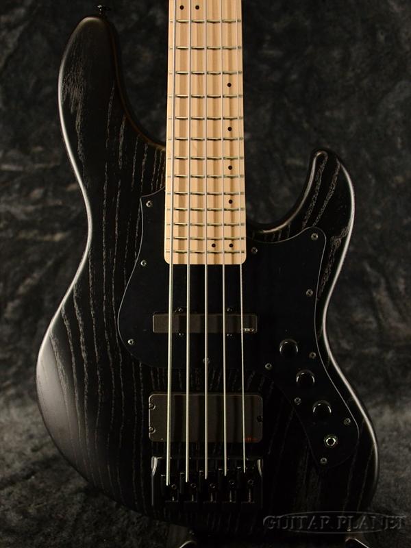 【スポット生産カラー!】FgN(FUJIGEN) JMJ-ASH-DE-M -Open Pore Blck- 新品[フジゲン,富士弦][国産][EMG Pickup搭載][Active,アクティブ][トランスブラックフラット,黒][Jazz Bass,ジャズベースタイプ][Electric Bass,エレキベース]