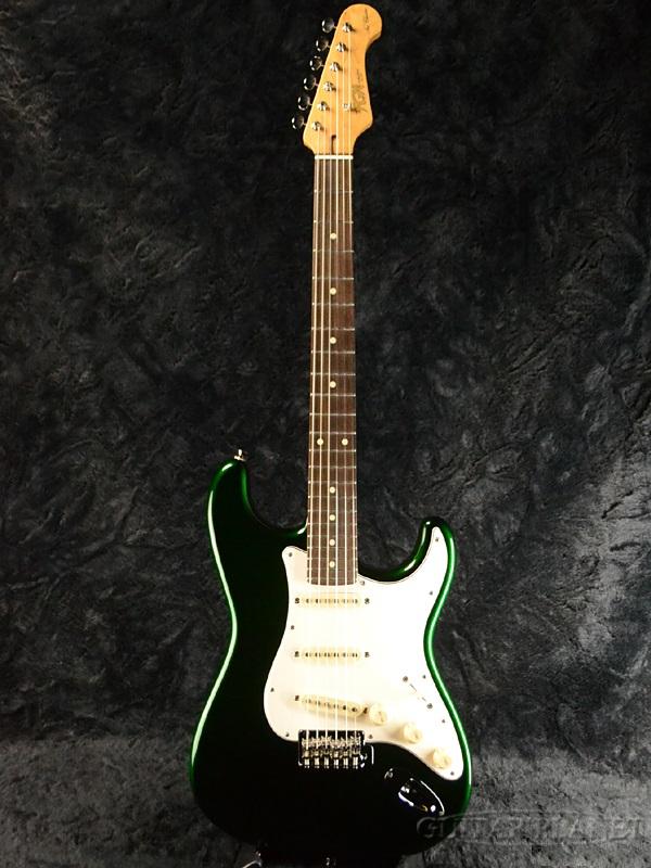 沸騰ブラドン 【カタログ外モデル】FgN NST100 CAG 新品[フジゲン,富士弦][国産][Green,グリーン,緑][Stratocaster,ストラトキャスタータイプ][Electric Guitar,エレキギター], entrance 0fe225f6