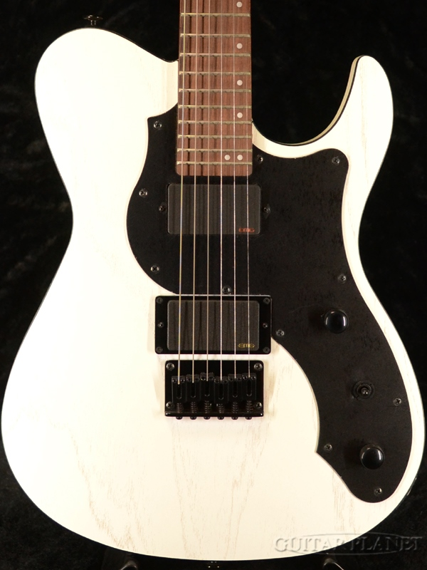 FgN(FUJIGEN) JIL-ASH-DE-G OPW 新品[フジゲン,富士弦][国産][White,ホワイト,白][EMGピックアップ搭載][Telecaster,テレキャスタータイプ][Electric Guitar,エレキギター]