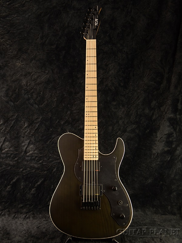 FgN(FUJIGEN) JIL-ASH-DE664-M TBF 新品[フジゲン,富士弦][国産][Black,ブラック,黒][EMGピックアップ搭載][Telecaster,テレキャスタータイプ][Electric Guitar,エレキギター]