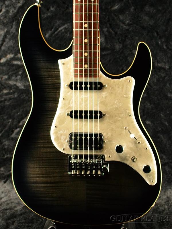 FUJIGEN JOS-FM-G TKS 新品[フジゲン,富士弦,FgN][国産][Black,ブラック,黒][Stratocaster,ストラトキャスタータイプ][Electric Guitar,エレキギター]