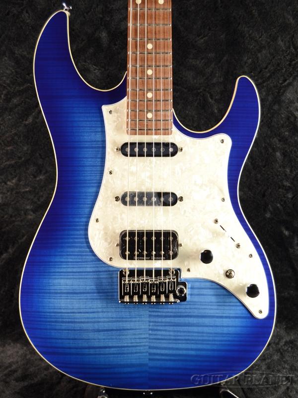 FUJIGEN JOS-FM-G JBT 新品[フジゲン,富士弦,FgN][国産][Jスタンダードシリーズ][Blue,ブルー,青][Stratocaster,ストラトキャスタータイプ][Electric Guitar,エレキギター]