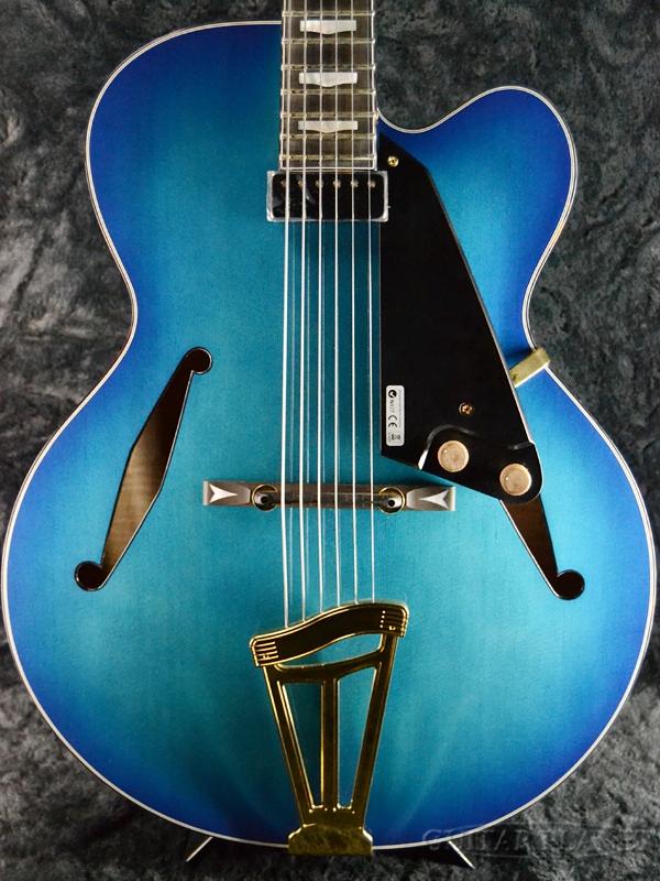 FUJIGEN MFA-FP BBT 新品[フジゲン,富士弦,FgN][国産][マスターフィールド][Blue Burst,ブルーバースト,青][フルアコ][エレキギター,Electric Guitar]