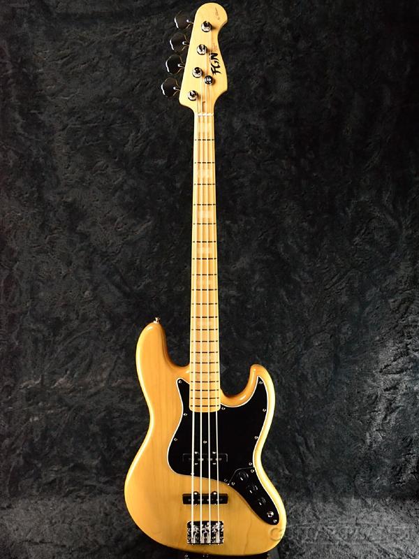 FgN(FUJIGEN) NJB10MBAH (NJB101) VNT 新品[フジゲン,富士弦][国産][Vintage Natural,ヴィンテージナチュラル][Jazz Bass,ジャズベース][Electric Bass,エレキベース]