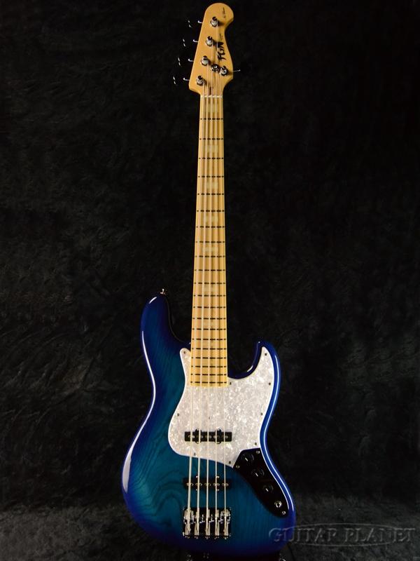 FgN Neo Classic NJB10MBAHV-SBB 新品[フジゲン,富士弦][国産][ブルーバースト,青][5strings,5弦][Jazz Bass,ジャズベースタイプ][Electric Bass,エレキベース]