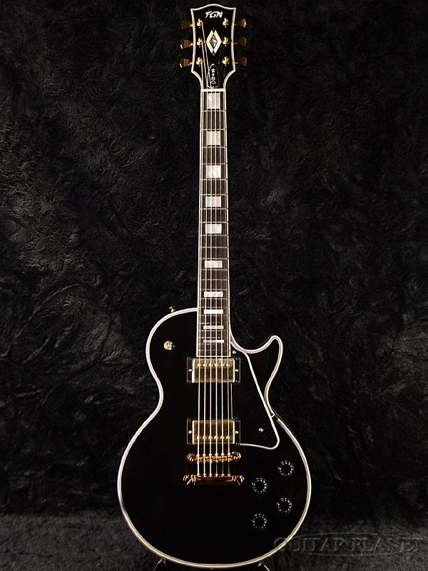 FgN(FUJIGEN) NLC200 BK 新品[フジゲン,富士弦][国産][Black,ブラック,黒][Les Paul,LP,レスポールタイプ][Electric Guitar,エレキギター]