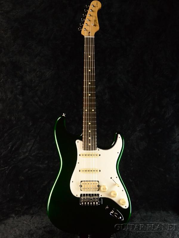 高質で安価 【カタログ外カラー】FgN(FUJIGEN) NST101 CAG 新品[フジゲン,富士弦][国産][Candy Apple Green,キャンディアップルグリーン,緑][ストラトキャスタータイプ,Stratocaster][エレキギター,Electric Guitar], designshop f671a583
