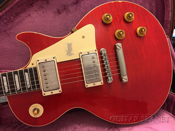 Gibson Custom Shop ~Historic Collection 2018~ 1958 Les Paul Standard Lightly Aged PSL -Sweet Cherry- #8 8712 新品[ギブソン][ヒストリックコレクション][スイートチェリー,赤,木目][レスポール,LP][Electric Guitar,エレキギター]