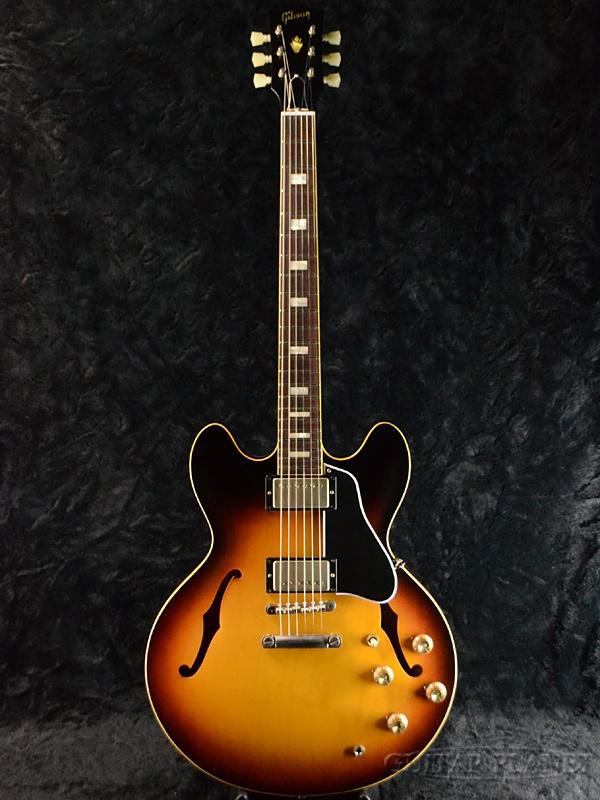 Gibson Memphis Historic Series 1963 ES-335TD VOS Historic Burst #61041 新品[ギブソン][メンフィス][サンバースト][セミアコ][Electric Guitar,エレキギター][ES335]