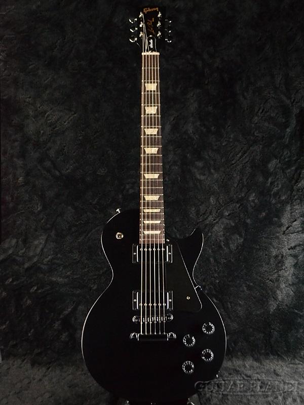 【2017Model】Gibson Les Paul Studio 2017 T Ebony 新品[ギブソン][スタジオ][エボニーブラック,黒][LP,レスポール][Electric Guitar,エレキギター]