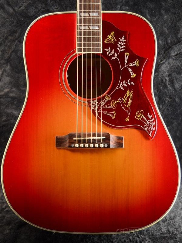 Gibson Hummingbird Red Spruce VOS w/ L.R.Baggs VTC 新品[ギブソン][ハミングバード][Cherry,チェリー,レッド,サンバースト][ピックアップ搭載][Acoustic Guitar,アコースティックギター,アコギ,Folk Guitar,フォークギター]
