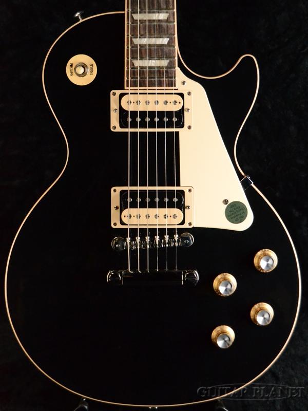Gibson Les Paul Classic -Ebony- 新品[ギブソン][クラシック][Black,エボニー,ブラック,黒][レスポール][Electric Guitar,エレキギター]