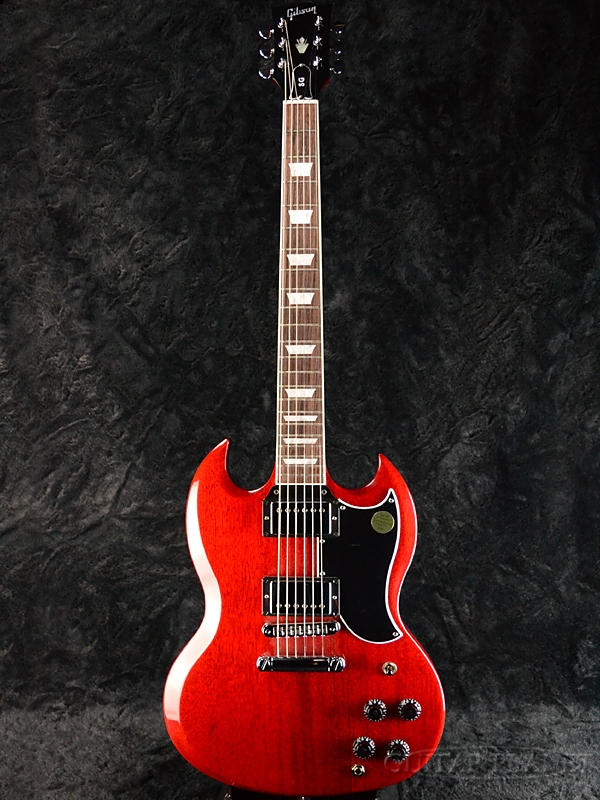 【2018 MODEL】Gibson SG Standard 2018 Heritage Cherry 新品[ギブソン][スタンダード][ヘリテージチェリー,赤][Electric Guitar,エレキギター]