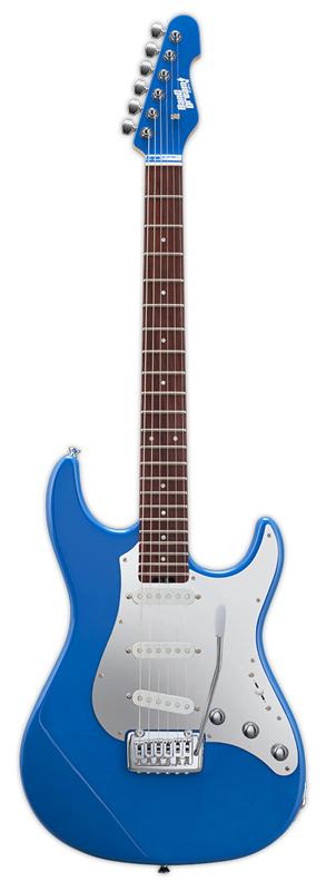 【通販 人気】 BanG Dream! Snapper Tae 新品 花園たえモデル[バンドリ!][スナッパー][Stratocaster,ストラトキャスタータイプ][Blue,ブルー,青][Poppin'Party][Electric Guitar,エレキギター], サカイムラ c1939422