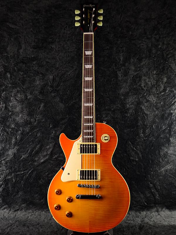 GrassRoots G-LP-60S Left Hand 新品 ハニーサンバースト[グラスルーツ][ESPブランド][Les Paul,レスポールタイプ][Honey Sunburst][LH,レフティ,レフトハンド,左用][Electric Guitar,エレキギター]