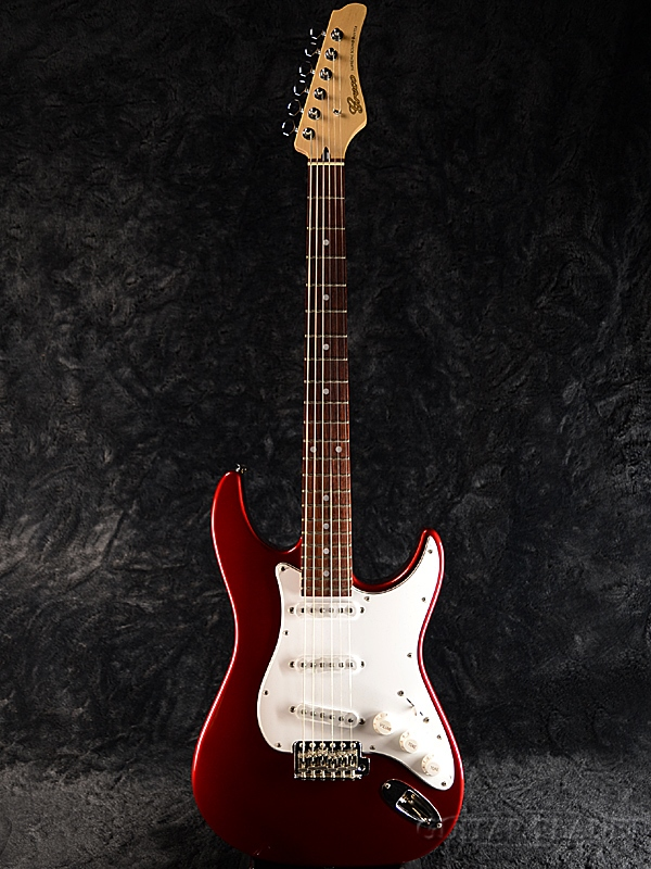 【ERNIE BALL4点セット付】Greco WS-STD Metallic Red/Rosewood 新品 [グレコ][国産][レッド,赤][Stratocaster,ST,ストラトキャスタータイプ][Electric Guitar,エレキギター]