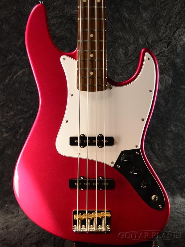 Greco WSB-STD Pearl Pink/Rosewood 新品[グレコ][国産/日本製][Standard,スタンダード][パールピンク,赤][Jazz Bass,JB,ジャズベースタイプ][Electric Bass,エレキベース]