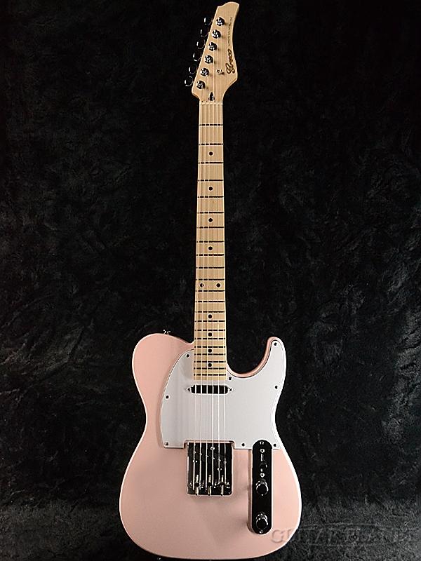 【ERNIE BALL4点セット付】Greco WST-STD Light Pink/Maple 新品[グレコ][国産][ライトピンク][Telecaster,TL,テレキャスタータイプ][Electric Guitar,エレキギター]