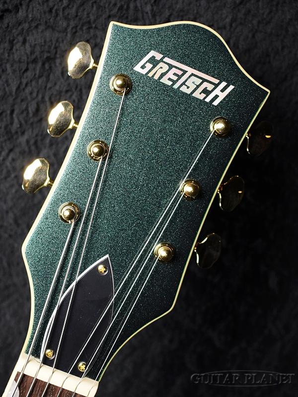 GretschG5420TGLTDErectromaticHollowBodywithBigsby-CadillacGreen-新品[グレッチ][ビグスビー][グリーン,緑][ElectricGuitar,エレキギター]