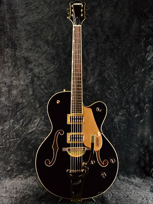 Gretsch G5420TG-FSR Electromatic Hollow Body Single-Cut with Bigsby -Black- 新品[グレッチ][エレクトロマチック][ブラック,黒][フルアコ][Electric Guitar,エレキギター]