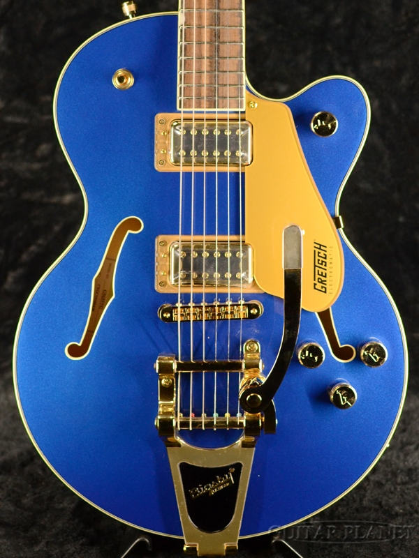 Gretsch G5655TG Electromatic Center Block Jr. Single-Cut with Bigsby Azure Metallic 新品[グレッチ][エレクトロマチック][アジュールメタリック,ブルー,青][Electric Guitar,エレキギター]