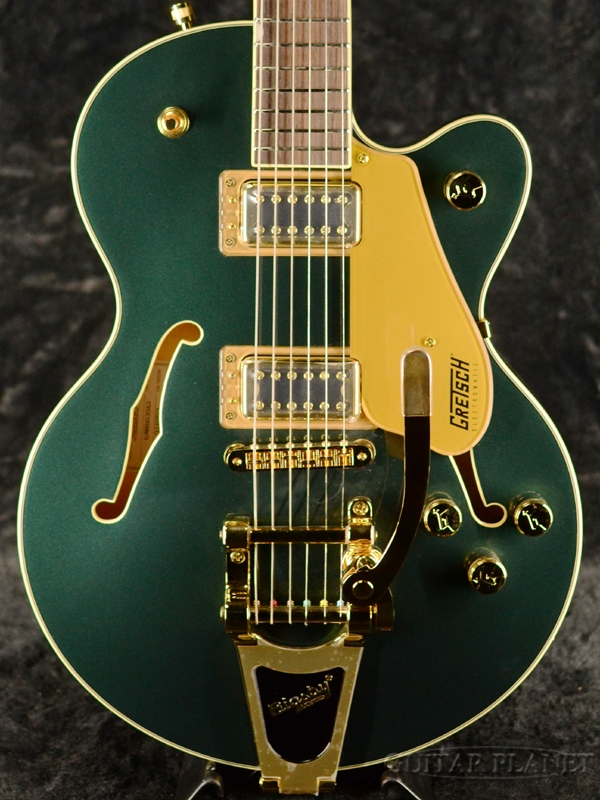 Gretsch G5655TG Electromatic Center Block Jr. Single-Cut with Bigsby Cadillac Green 新品[グレッチ][エレクトロマチック][キャデラックグリーン,緑][Electric Guitar,エレキギター]
