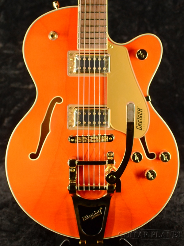 Gretsch G5655TG Electromatic Center Block Jr. Single-Cut with Bigsby Orange Stain 新品[グレッチ][エレクトロマチック][オレンジ][Electric Guitar,エレキギター]