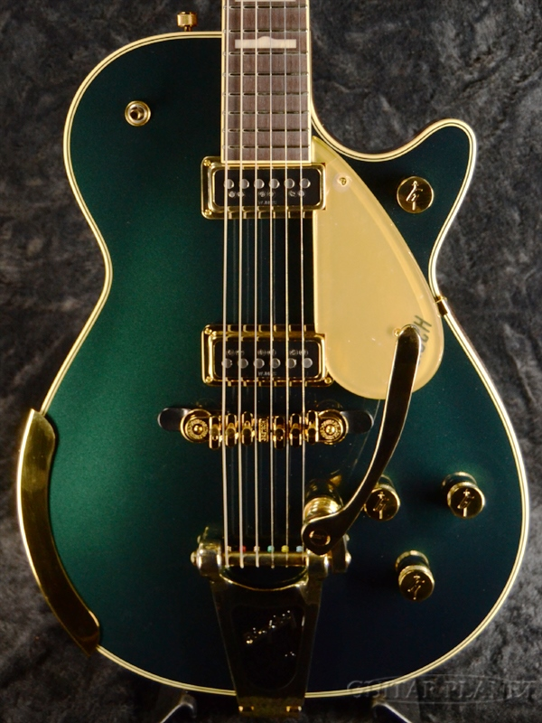 Gretsch G6128T-57 Vintage Select '57 Duo Jet-Cadillac Green Metallic- 新品[グレッチ][デュオジェット][グリーン,緑][Electric Guitar,エレキギター]