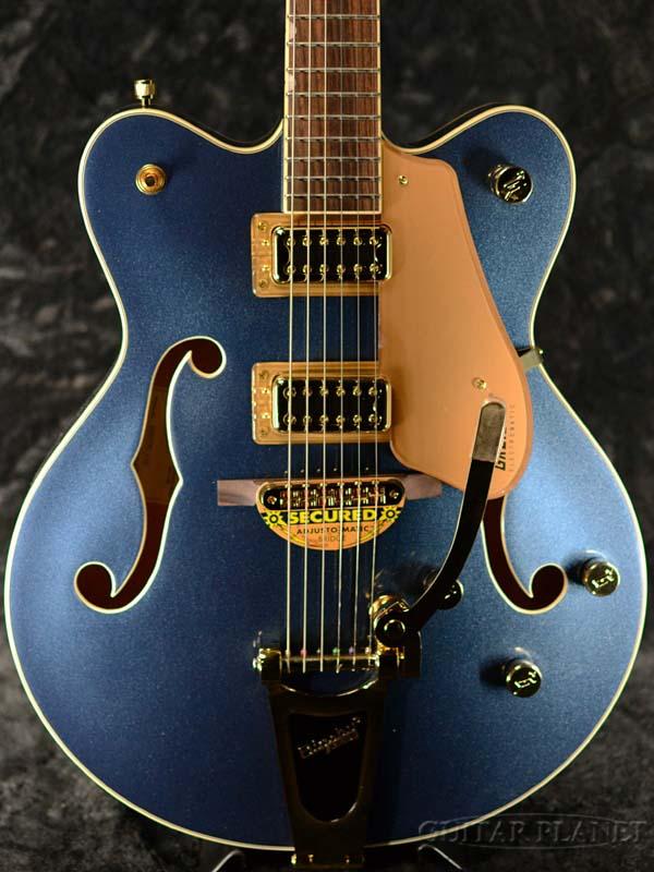 Gretsch G5422TG Limited Edition Electromatic Hollow Body Double-Cut with Bigsby -Midnight Sapphire- 新品[グレッチ][エレクトロマチック][ビグズビー][ミッドナイトサファイアブルー,青][セミアコ/フルアコ][Electric Guitar,エレキギター]