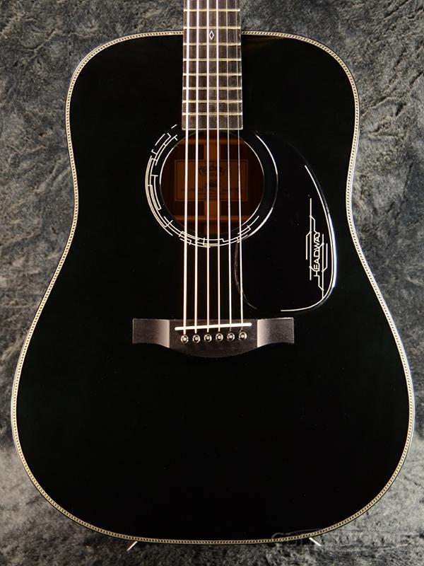 【楽器フェア出展個体!】Headway Aska Team Build HD-JET BLACK #A01901【漆黒】新品[ヘッドウェイ][国産/日本製][ブラック,黒][Acoustic Guitar,アコースティックギター,アコギ,Folk Guitar,フォークギター]