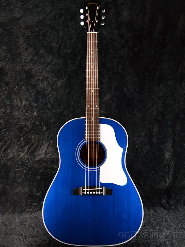Headway Standard Series HJ-HOBO/STD See Through Blue 新品[ヘッドウェイ][国産][スタンダード][シースルーブルー,青][Acoustic Guitar,アコースティックギター,アコギ,Folk Guitar,フォークギター]