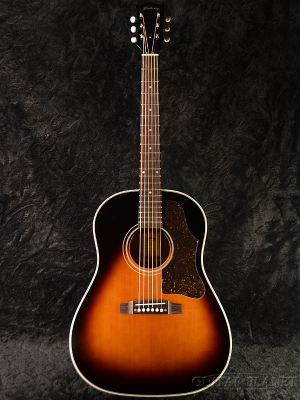 Headway Standard Series HJ-HOBO/STD SB 新品[ヘッドウェイ][国産][スタンダード][Sunburst,サンバースト][Acoustic Guitar,アコースティックギター,アコギ,Folk Guitar,フォークギター]