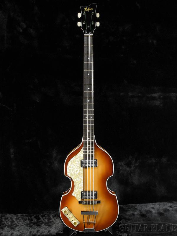 Hofner 500/1 Vintage 62 Left Hand -Sunburst- 新品[ヘフナー][ドイツ製][サンバースト][Lefty,レフティ,左][Violin Bass,バイオリンベース][Electric Bass,エレキベース]