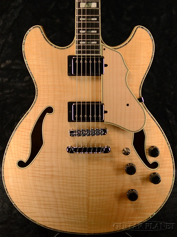 【限定生産】Ibanez ARTSTAR ASV113-RNT -Resonant Natural- 新品[アイバニーズ][セミアコ][ナチュラル][Electric Guitar,エレキギター]