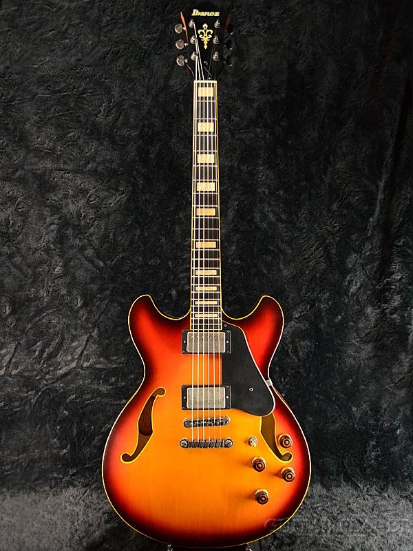 Ibanez ASV93-Tri-Fade Low Gloss- 新品[アイバニーズ][トライフェイドローグロス,Sunburst,サンバースト][Electric Guitar,エレキギター]