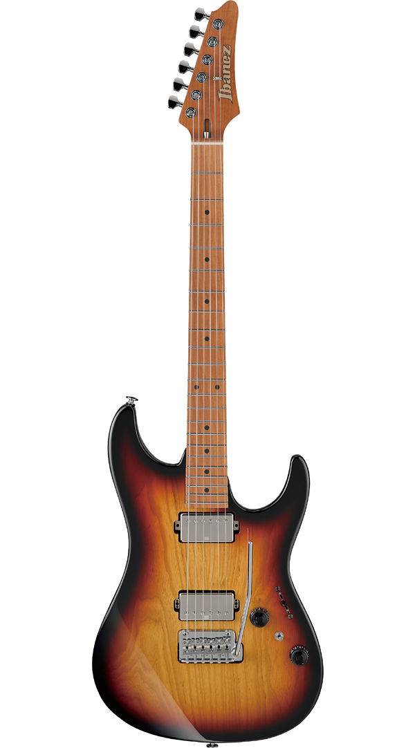 Ibanez Prestige AZ2402A -TFF- Made In Japan 新品[アイバニーズ][国産][サンバースト][Electric Guitar,エレキギター]