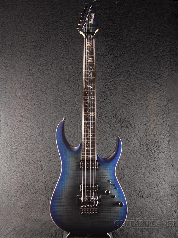Ibanez j.custom RGA8420-Sodalite Flat- 新品[アイバニーズ][Jカスタム][RGシリーズ][ソーダライトフラット,Blue,ブルー,青][Stratocaster,ストラトキャスタータイプ][Electric Guitar,エレキギター]
