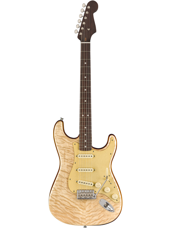 Fender USA Rarities Quilt Maple Top Stratocaster -Natural- 新品[フェンダー][レアリティーズ][ナチュラル][ストラトキャスター][Electric Guitar,エレキギター]