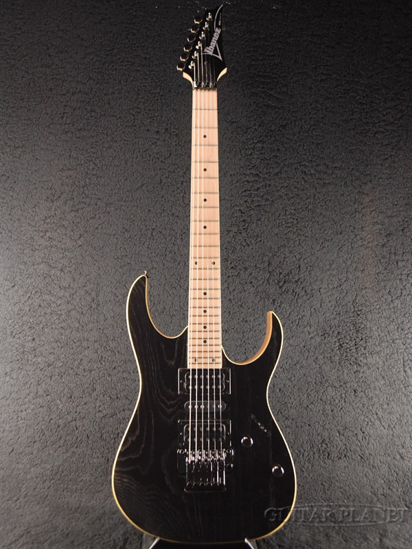 Ibanez RG370AHMZ -Silver Wave Black- 新品[アイバニーズ][RGシリーズ][シルバーウェーブブラック,黒][Stratocaster,ストラトキャスタータイプ][Electric Guitar,エレキギター]