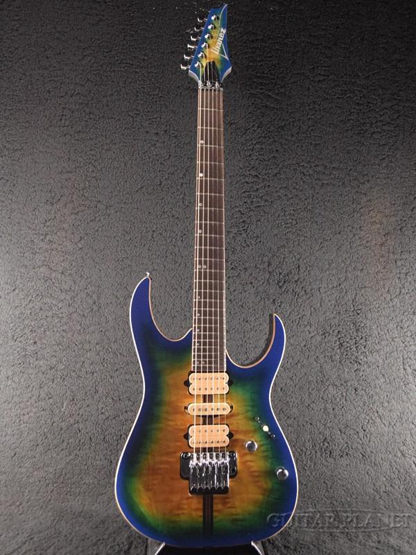 Ibanez Premium RG6PFGMLTD-GBB 2018限定モデル!! 新品[アイバニーズ][RGシリーズ][Geyser Blue Burst,ブルーバースト][Stratocaster,ストラトキャスタータイプ][Electric Guitar,エレキギター]
