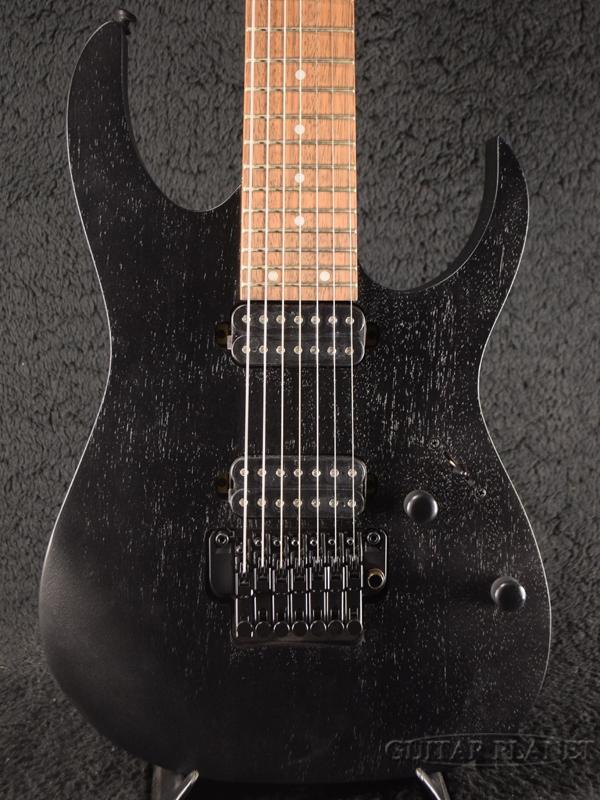 Ibanez RG7420Z -Weathered Black- 新品[アイバニーズ][ブラック,黒][7strings,7弦][Stratocaster,ストラトキャスター][Electric Guitar,エレキギター]