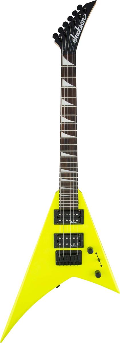 Jackson JS1X RR Minion Neon Yellow 新品[ジャクソン][ランディローズ,ランディV][ミニオン][ネオンイエロー,黄][Electric Guitar,エレキギター]