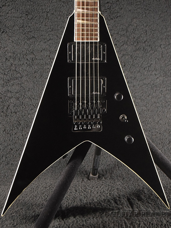 Jackson KingV KVX-Gross Black- 新品[ジャクソン][キングV][グロスブラック,黒][Electric Guitar,エレキギター]