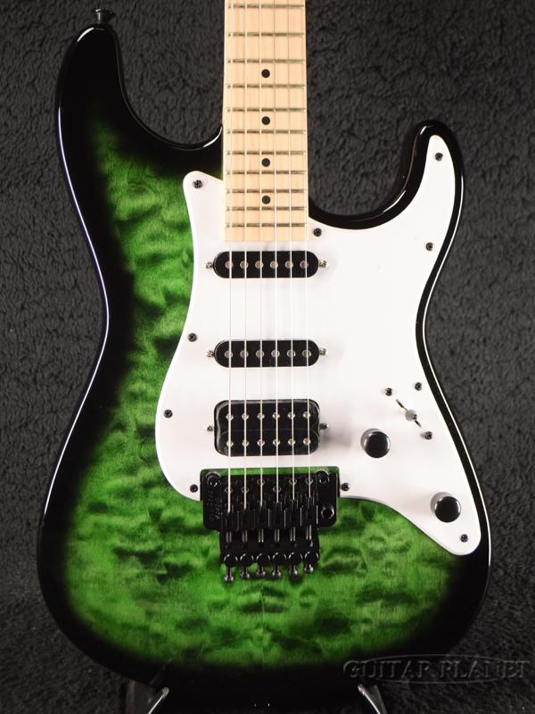 Jackson X Series Adrian Smith Signature SDXQ -Transparent Green Burst- 新品[ジャクソン][グリーンバースト,緑][エイドリアン・スミス][Stratocaster,ストラトキャスター][Electric Guitar,エレキギター]