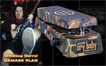 Jim Dunlop Dime CryBaby From Hell DB-01 新品[Dimebag Signature Wah Pedal][ジムダンロップ][ワウペダル][エフェクター,Effector]_wpdl_arti