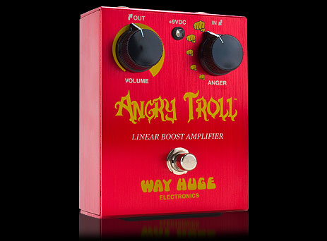 WAY HUGE ANGRY TROLL/Linear Boost Amplifier WHE-101 新品[ウェイヒュージ][アングリートロール][エフェクター,Effector][ブースター,Booster][WHE101]