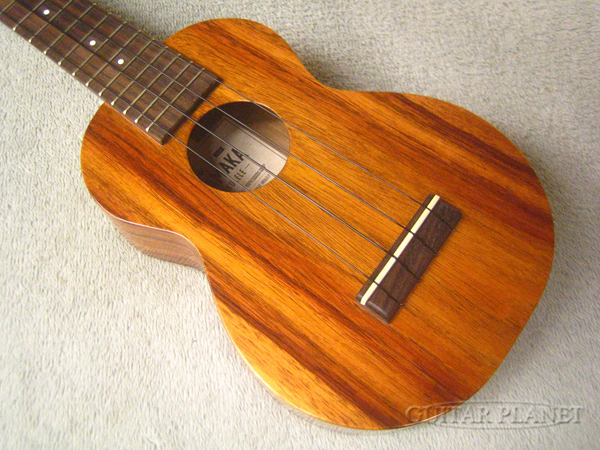 Kamaka HF-1 Soprano #192280 新品 ソプラノウクレレ[カマカ][Hawaiian Koa,ハワイアンコア][Soprano Ukulele]